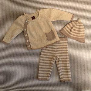 Tea 3-6 Month Outfit Set